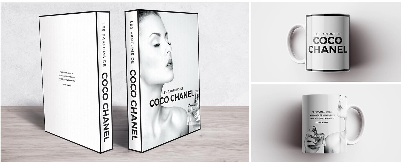 Book Box e Caneca Coco Chanel Perfums