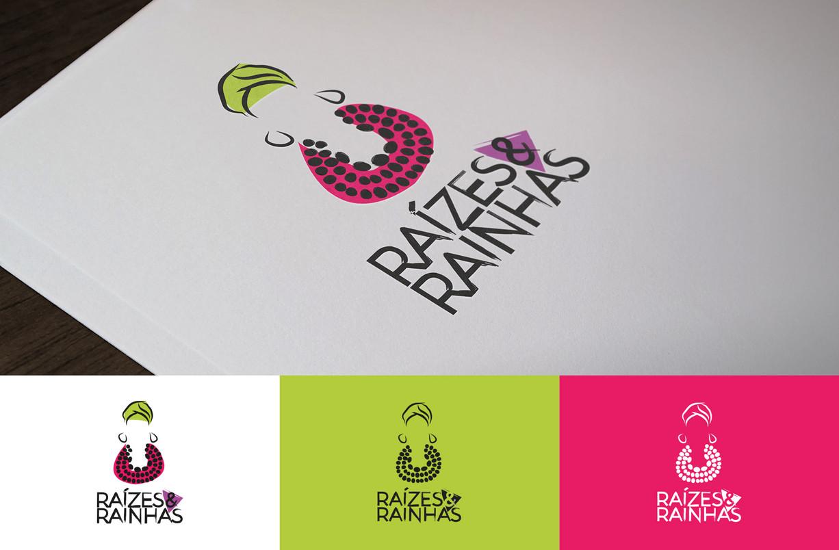 Logo Raízes e Rainhas