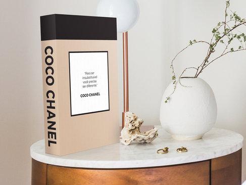 Coco Chanel Book Box Covers