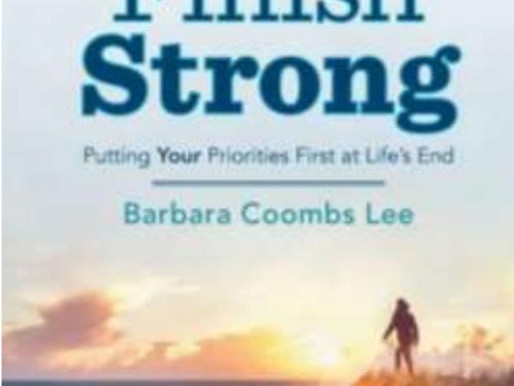 """How to """"Finish Strong"""""""