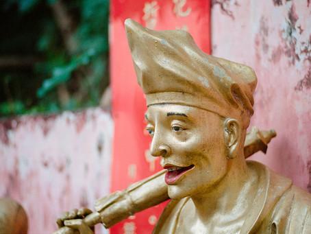 Ten Thousand Buddhas Monastery (Film) - Nikon F3HP / Kodak Portra 400