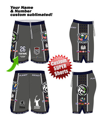Custom Hockey Shorts