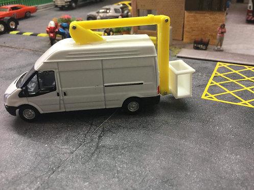 1/76 Code3 cherry picker ford transit oxford diecast