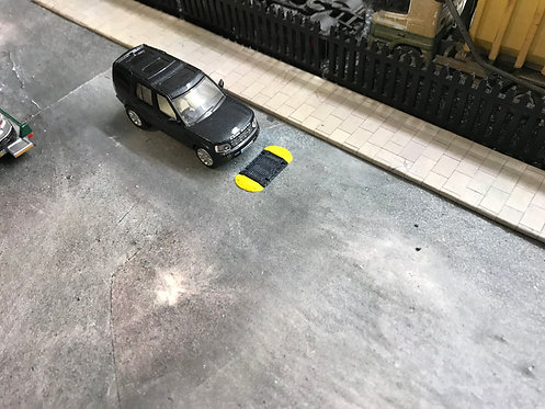 1:76 3D Printed Speed Bumps - 6pkt