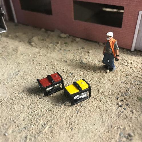 1.76 3D Resin Printed Portable Site Generators - 2pk
