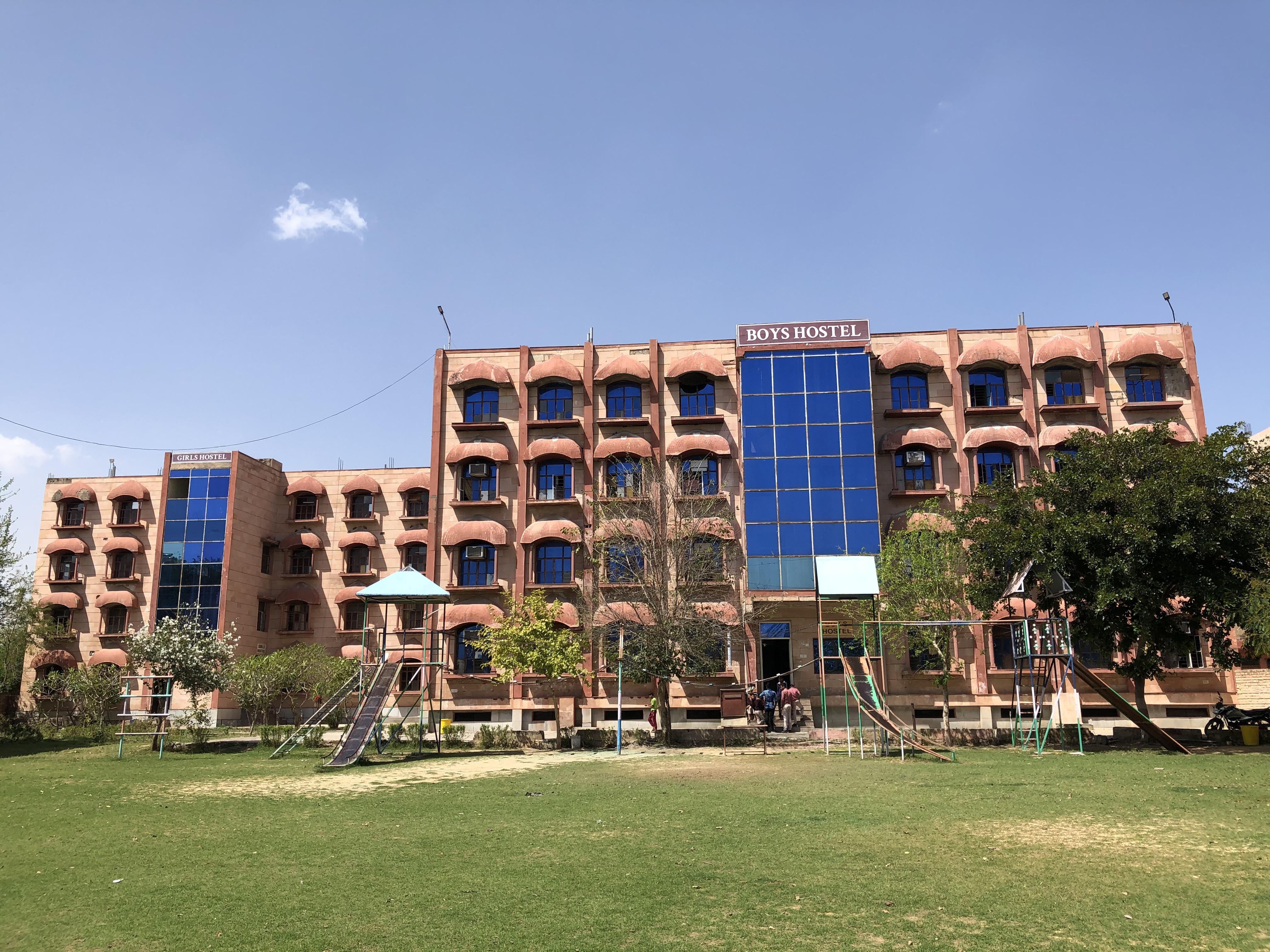 LIS Top Boarding School in Alwar: Hostel front 1