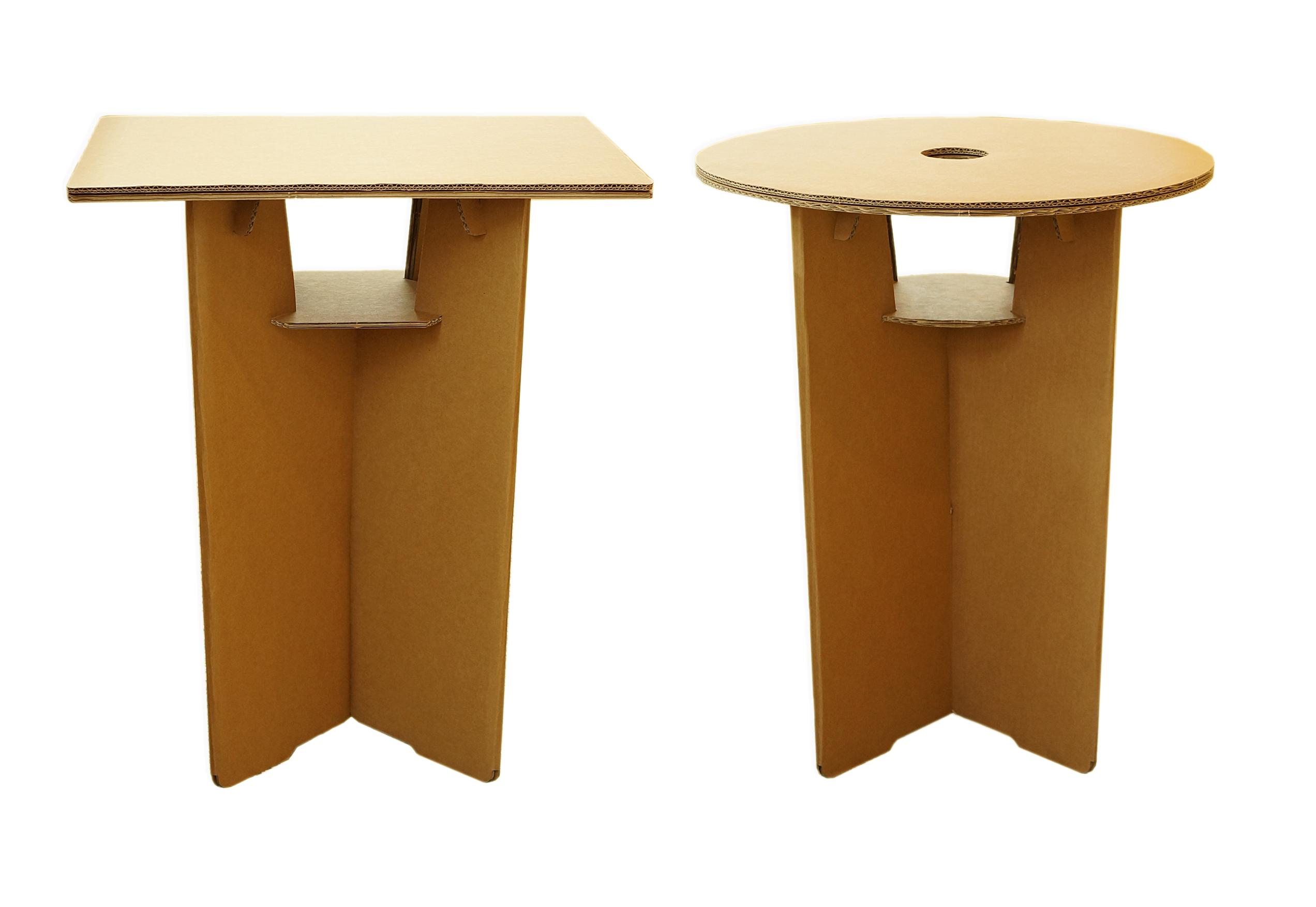 Cardboard table