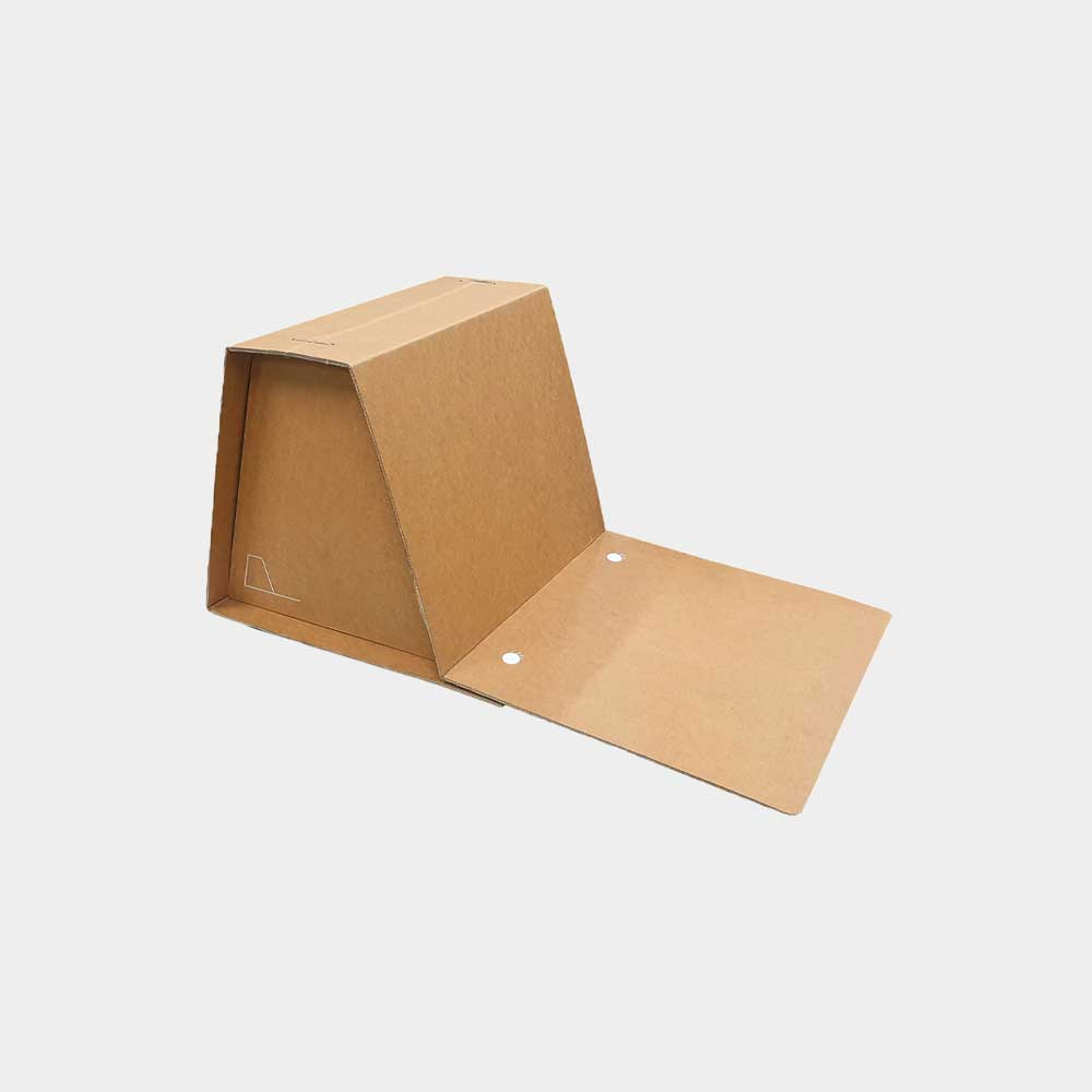 휴대용 종이등받이 의자 [채셔]