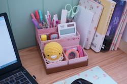 UNIQUE BOX SMALL PINK ROSE