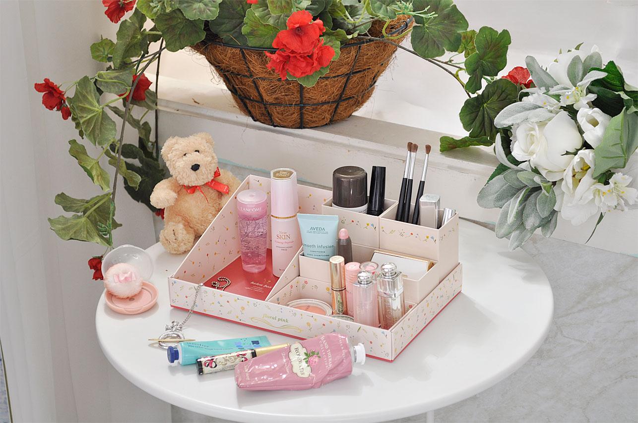 Helen box floral pink