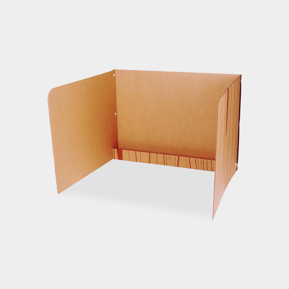 공부집중 독서실 칸막이 [하단선반형]