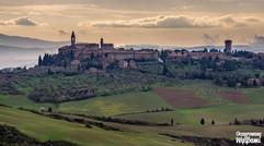 Pienza - widok z Monticchiello