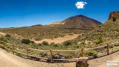 Punkt widokowy w kalderze Teide
