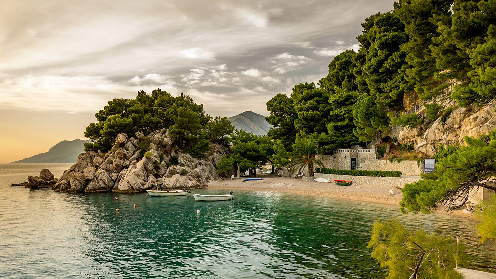 Oczarowany Wyspami Riwiera Makarska