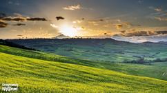 """Val d'Orcia """"wysoki widok"""" - miejsce fotograficzne"""