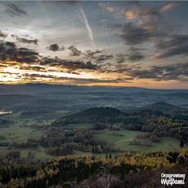 Zachód Słońca w Rudawach Janowickich