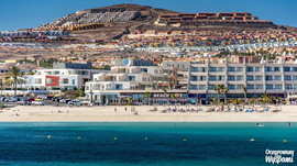 Plaża miejska w Caleta de Fuste