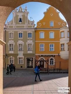 Opole - kamieniczki w Rynku Głównym