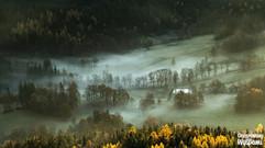 Mgły w Dolinie Bobru