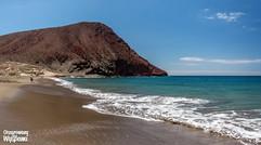 Plaża na południu Teneryfy