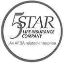 5 star logo b&w circle.png