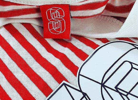 "SOS ""I'm Wally"" Red Stripe Tee (Unisex)"
