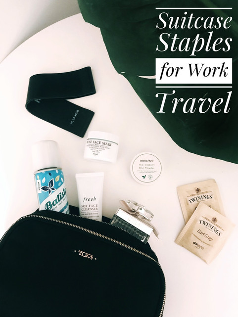 SIMPLE STAPLES FOR WORK TRAVEL