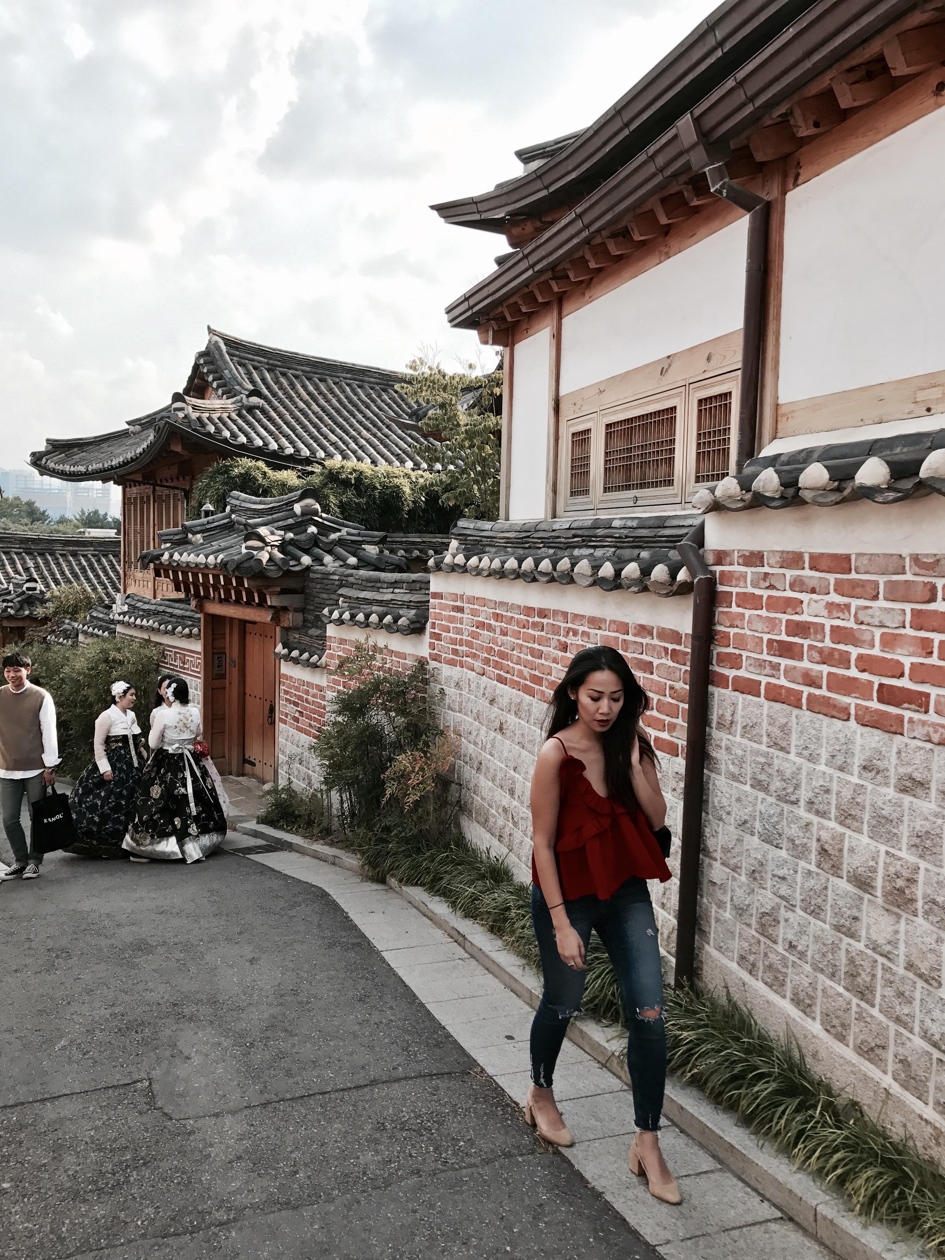 Bokchon Hanok Village