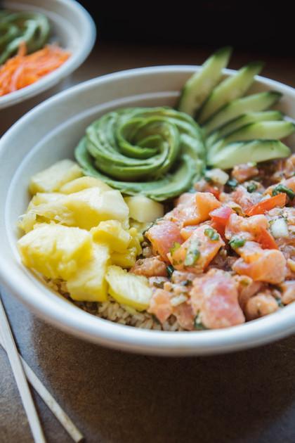 Lomi Lomi Salmon bowl