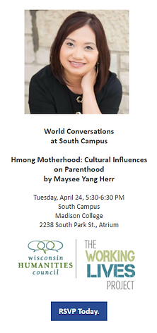 Hmong Motherhood: Cultural Influences on Parenthood by Maysee Yang Herr