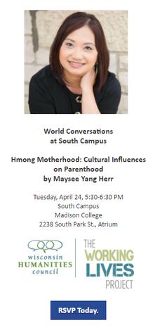 Hmong Motherhood: Cultural Influences on Parenthood by Maysee Yang Herr