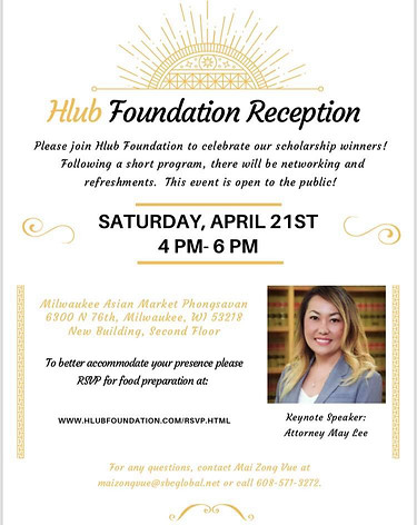 Hlub Foundation Reception