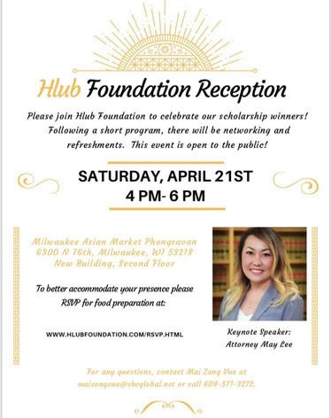 Hlub Foundation Reception