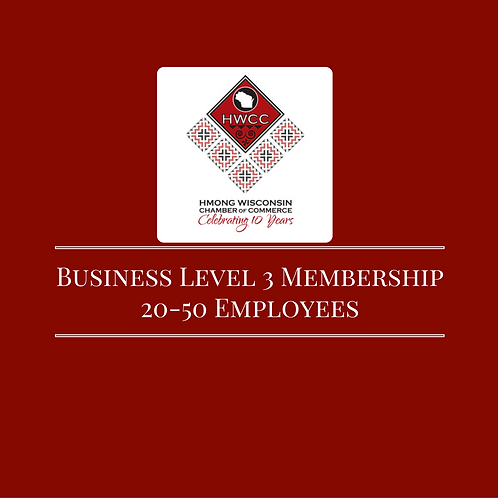 HWCC Business Level 3 Membership (20-50 Employees)