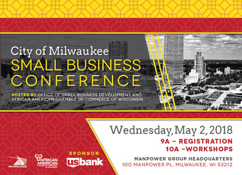 The 10th Annual City of Milwaukee's Small Business Conference