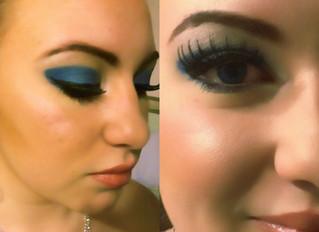 blue eye glam