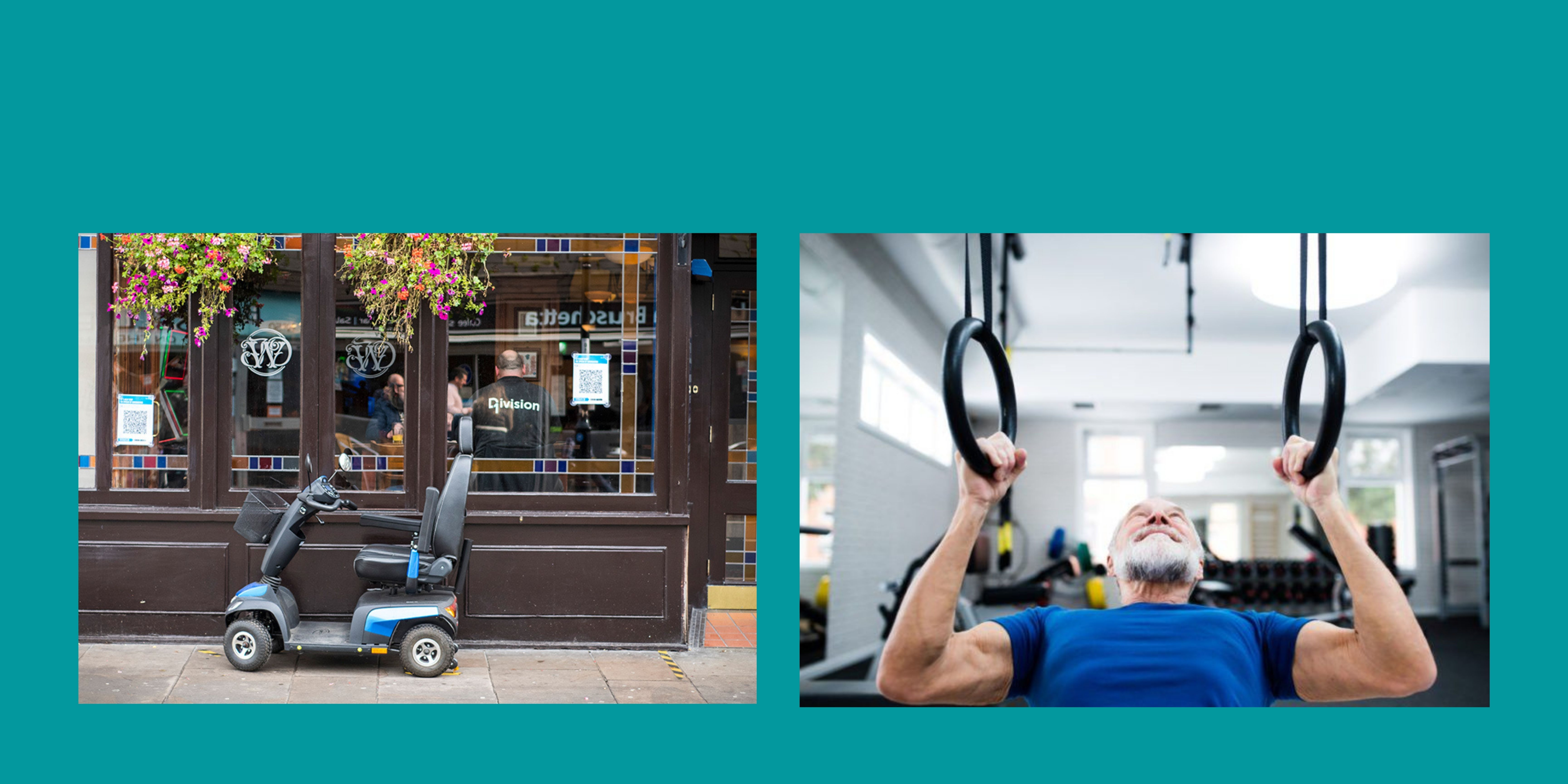 Fitness and wellbeing for older people