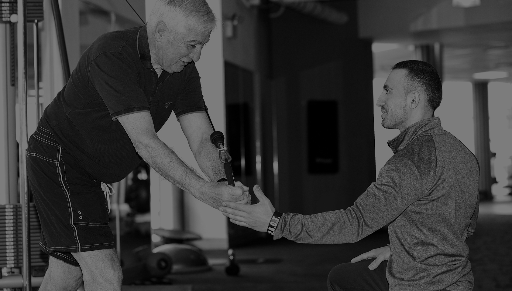 Fitness and wellbeing for over 60s