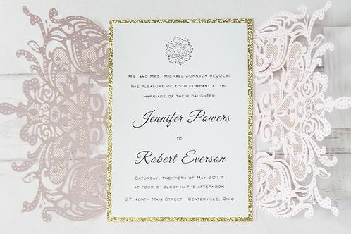 Soft and Romantic Wedding Invitation Set