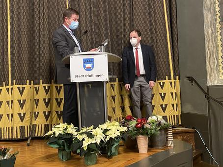 Große Ehre für Stadtrat Martin Fink