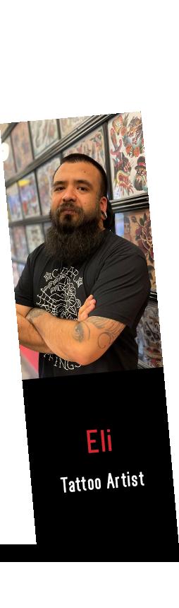 Eli Tattoo Artist