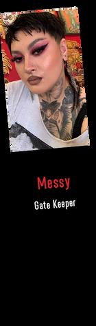 Messy Gate Keeper