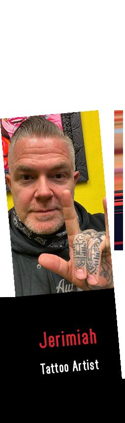 Jerimiah Tattoo Artist
