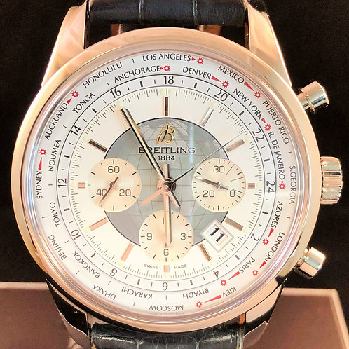 Breitling Transocean Chronograph Unitime Chronograph 46MM