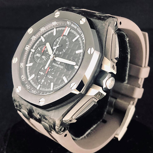 Audemars Piguet Royal Oak Offshore Chronograph Carbon/Ceramic B&P2012 - MINT