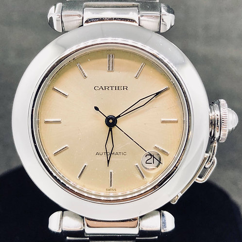 Cartier Pasha C, Automatic, 35MM, Steel, Ref: 1031 - Papers1998