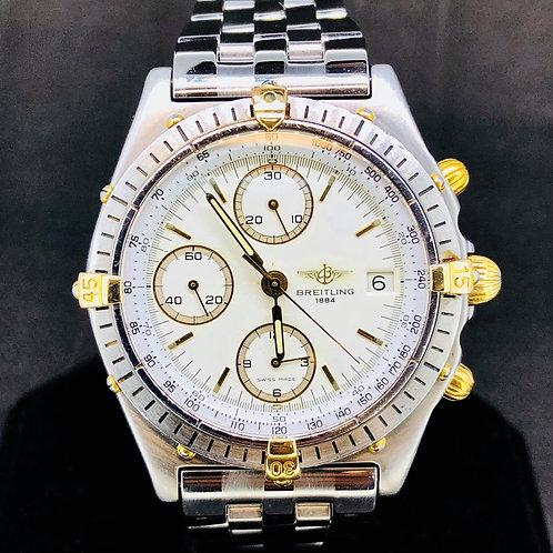 Breitling Chronomat Chronograph Gold/Steel, 39MM, Automatic