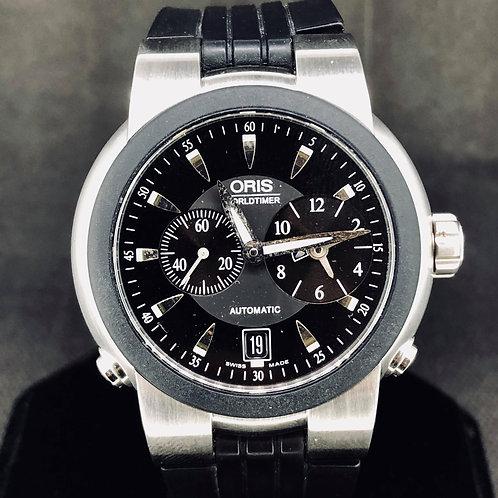 Oris TT1 World Timer Automatic, 42MM, Steel