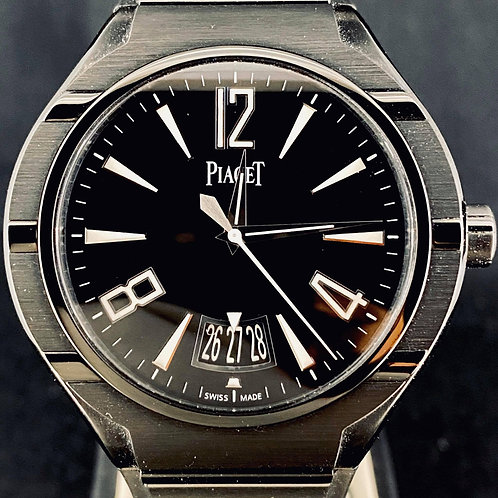 Piaget Polo Fortyfive Black PVD Titanium 45MM Automatic Date B&P'17