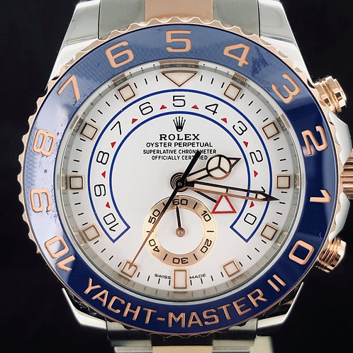 Rolex Yacht-Master II GOLD STEEL FULL SET 2018